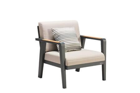 Emoti ekskluzywny zestaw wypoczynkowy naroży z aluminium fotel ogrodowy Higold