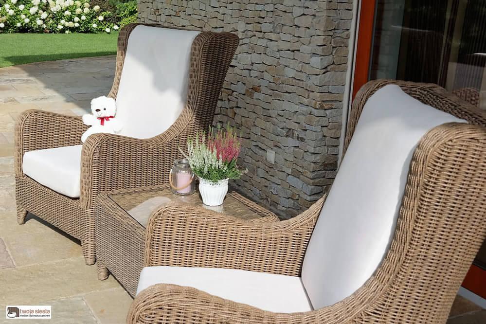 Montenero Wygodny Fotel Z Technorattanu Luksusowe Meble Ogrodowe