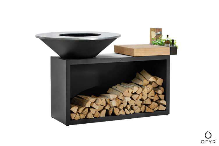 grill-ogrodowy-ofyr-island-100-czarny-ze-stali-z-blatem-roboczym-z-drewna-kauczkowego-luksusowe-grille-ogrodowe