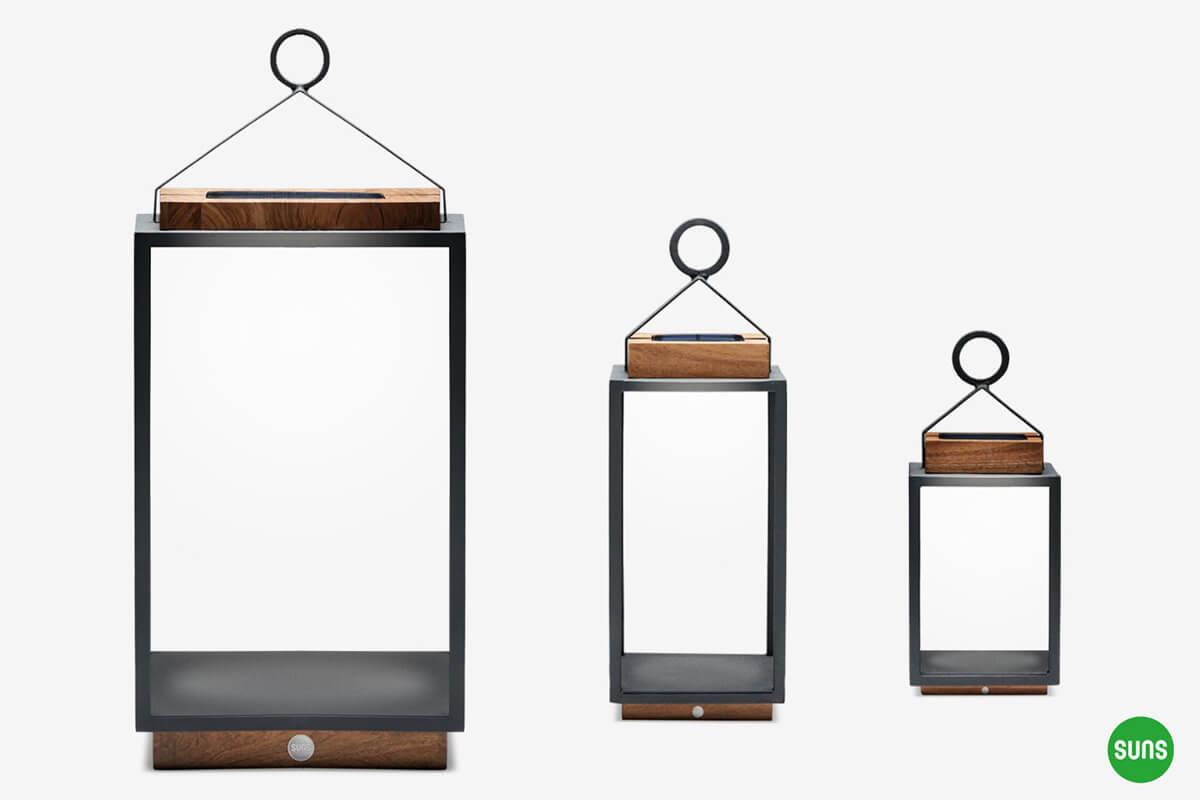 Bardzo dobry Coco solarne lampy ogrodowe ze stali nierdzewnej - Sklep PK94