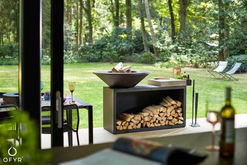 przepis na letnią imprezę inspiracje grill ogrodowy Ofyr Island 100 luksusowe grille ogrodowe Ofyr ze stali