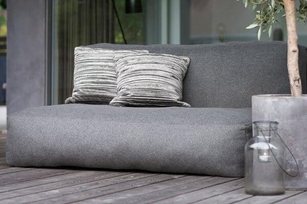 C-1 nowoczesna podwójna sofa ogrodowa z tkaniny TroisPommes Home luksusowe meble do ogrodu