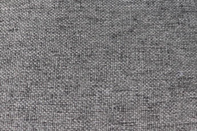 C-1 nowoczesna podwójna sofa ogrodowa z tkaniny TroisPommes Home luksusowe meble ogrodowe tkanina Olefin kolor ciemny szary melanż