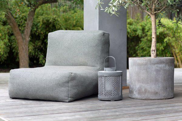 C-1 nowoczesny fotel ogrodowy z tkaniny TroisPommes Home luksusowe meble ogrodowe
