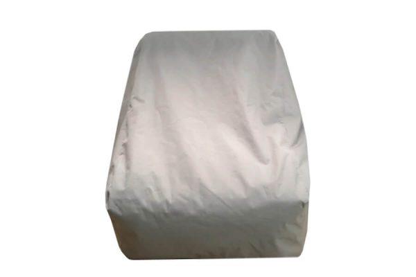 C-1 nowoczesny fotel ogrodowy z tkaniny TroisPommes Home luksusowe meble ogrodowe pokrowiec ochronny