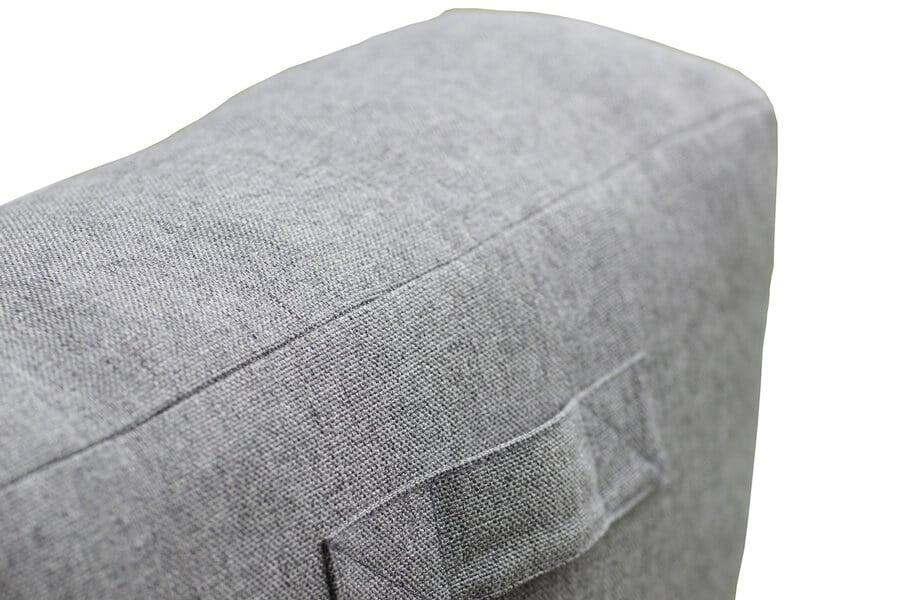 C-1 nowoczesny narożny fotel ogrodowy z tkaniny TroisPommes Home luksusowe meble ogrodowe rączka do przenoszenia
