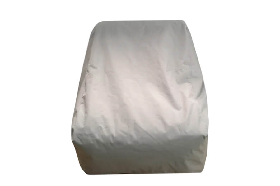 C-2 Edge nowoczesny fotel ogrodowy z tkaniny | pokrowiec ochronny