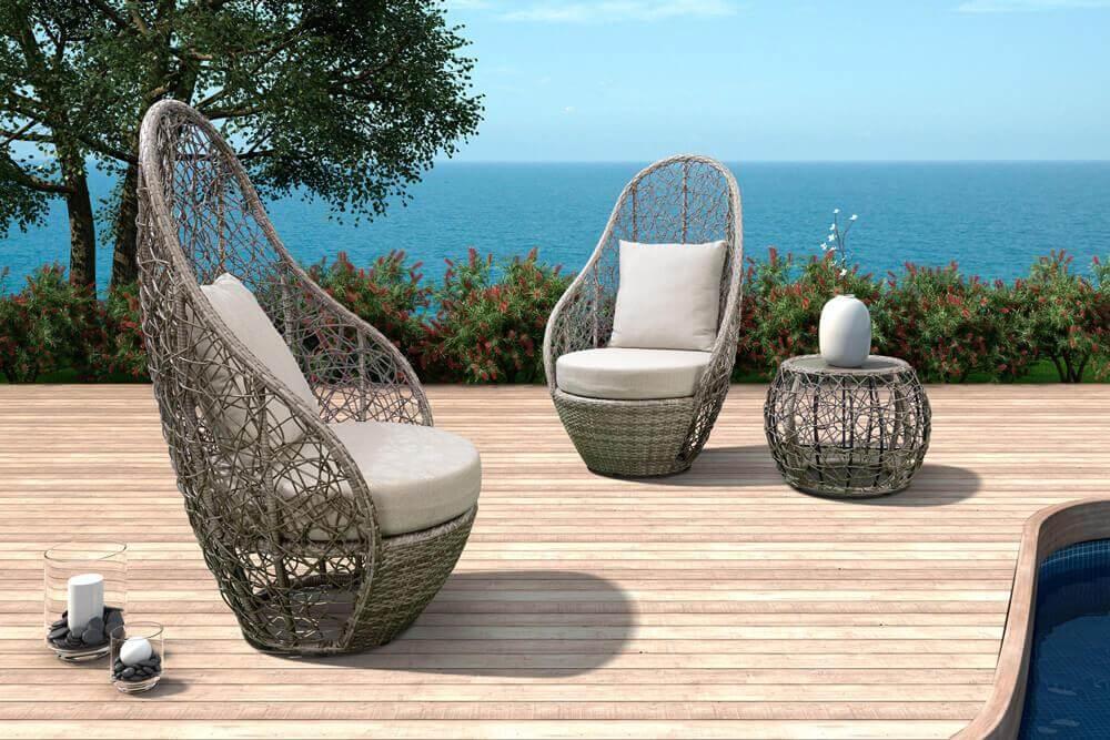 Wyprzedaże mebli ogrodowych Bali meble ogrodowe z technorattanu zestaw wypoczynkowy meble na balkon promocja