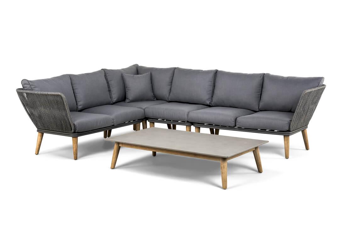 Corfu nowoczesny fotel ogrodowy Suns luksusowe meble ogrodowe