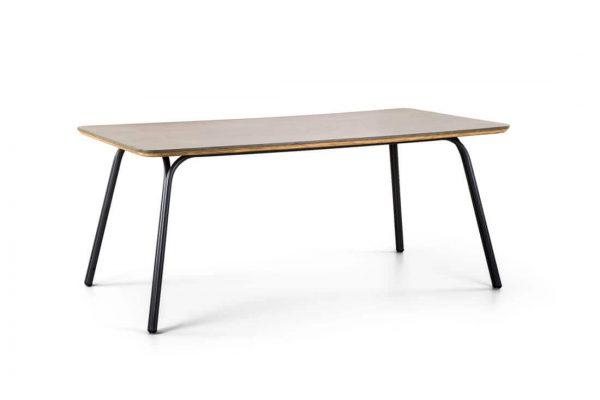 Simi designerski stół ogrodowy z cementowym blatem prostokątny 180 cm SUNS
