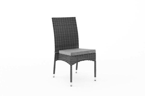 Strato krzesło ogrodowe z technorattanu kolor szary Oltre
