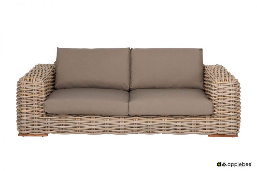 FFF modułowy zestaw wypoczynkowy z technorattanu - sofa ogrodowa FFF