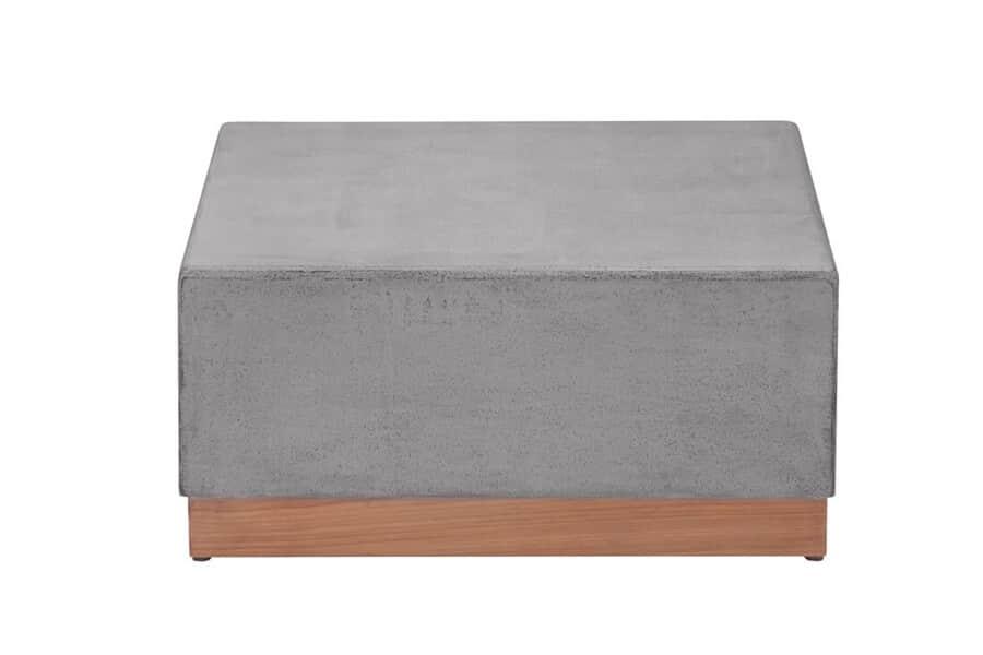 Crete stolik kawowy z betonu - Crete Grey