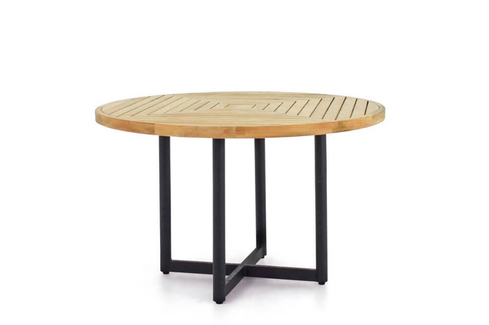 Jakarta zestaw stołowy do ogrodu dla 4 osób - stół okrągły Jakarta