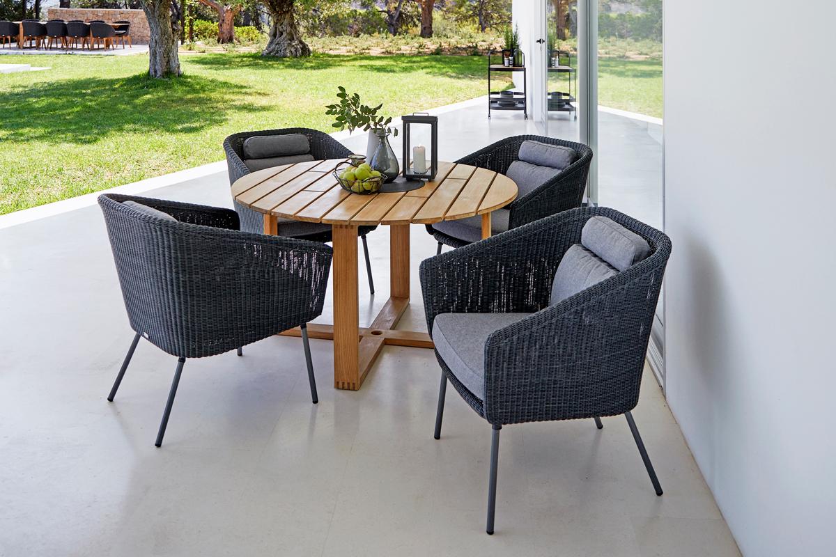 Mega krzesło ogrodowe technorattanowe Cane-line
