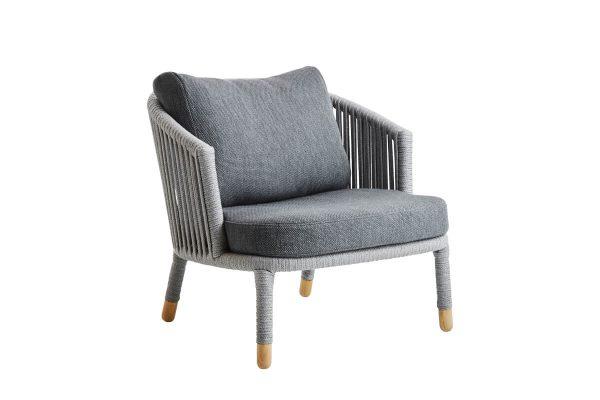 Moments elegancki fotel ogrodowy Cane-line designerskie meble do ogrodu
