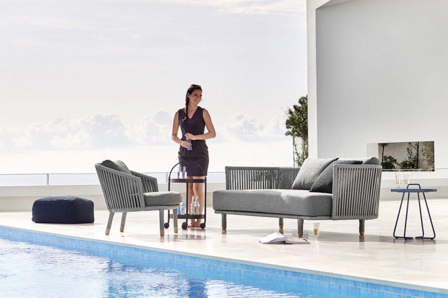 Moments sofa ogrodowa 3 osobowa Cane-line