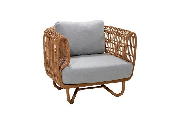 Nest fotel ogrodowy z technorattanu | Kolekcja Nest Cane-line