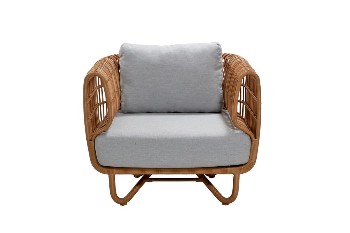 Nest fotel ogrodowy z technorattanu   Kolekcja Nest Cane-line