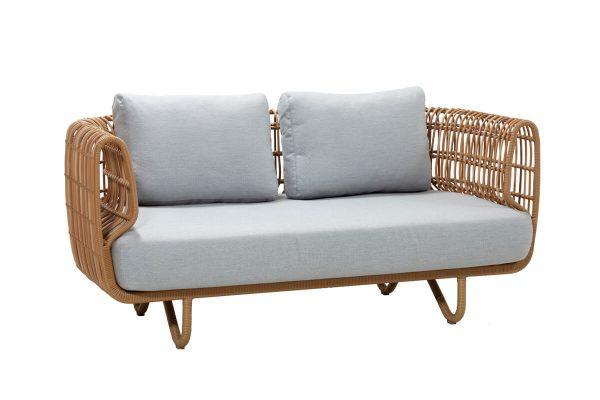 Nest sofa ogrodowa 2 osobowa z technorattanu | Kolekcja Nest Cane-line