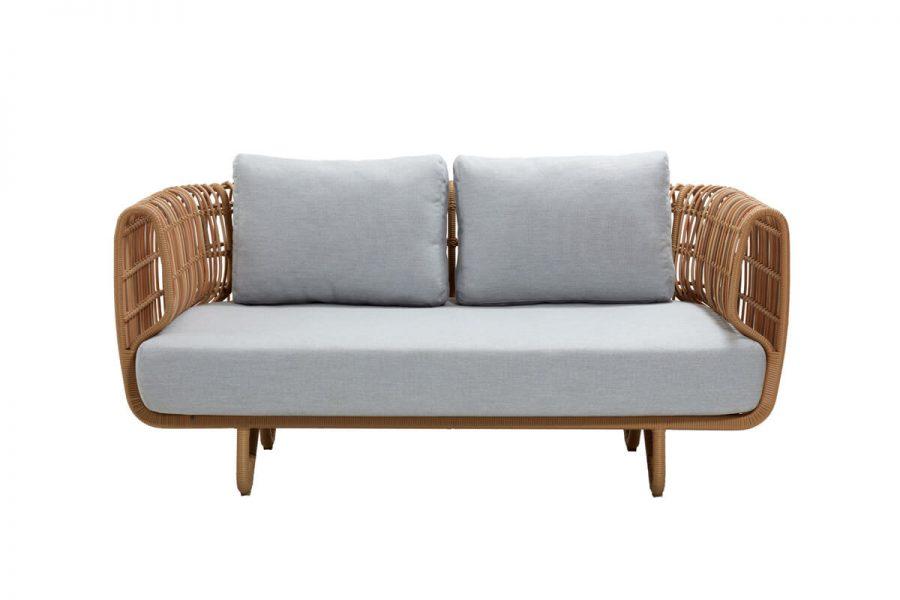 Nest sofa ogrodowa z grubego technorattanu   Kolekcja Nest Cane-line