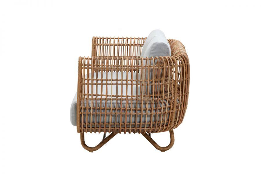 Nest sofa ogrodowa 2 osobowa z technorattanu   Kolekcja Nest Cane-line
