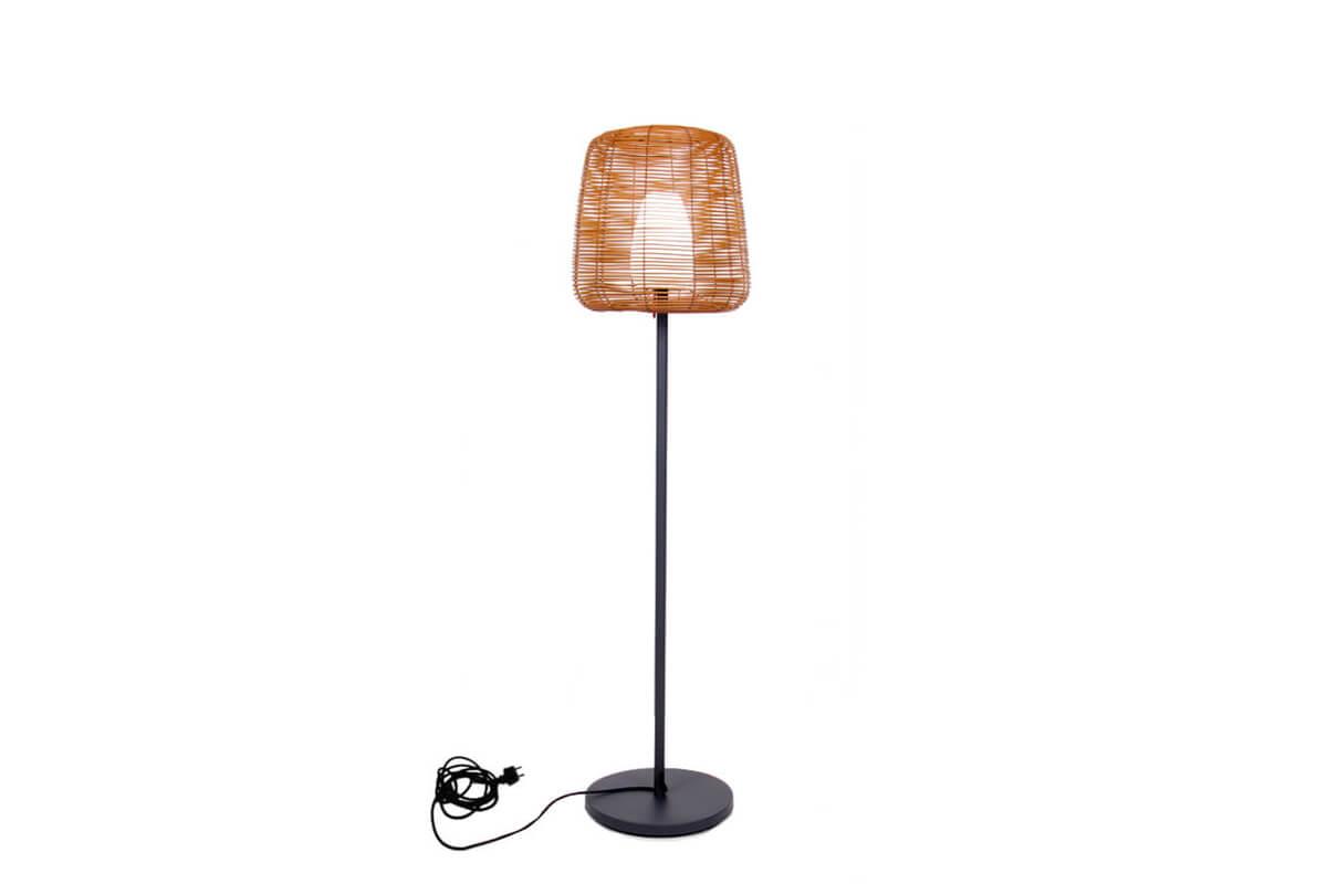Boheme lampa stojąca ogrodowa LED technorattan Lumisky