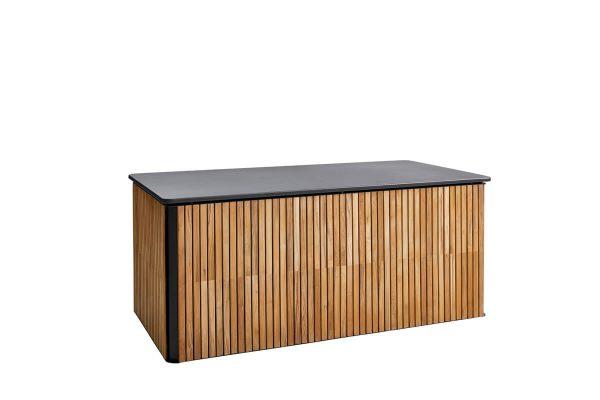 Combine duża skrzynia ogrodowa drewno teakowe aluminium