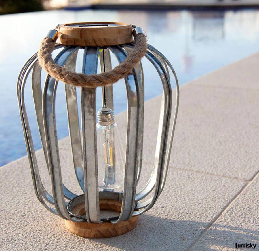 Java lampa ogrodowa solarna LED   Lumisky