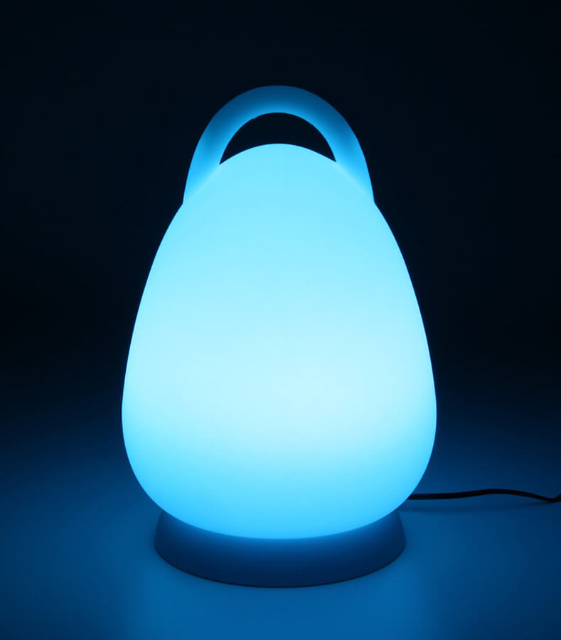 Liberty wodoodporna lampa ogrodowa LED przenośna pływająca z pilotem | Lumisky