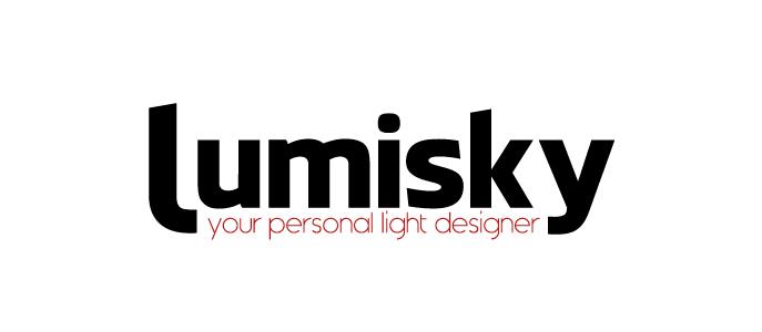 Coco Slim lampa solarna lampion ogrodowy LED| logo marki Lumisky