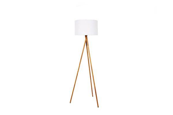 Tamboury Wood bezprzewodowa lampa stojąca LED Lumisky