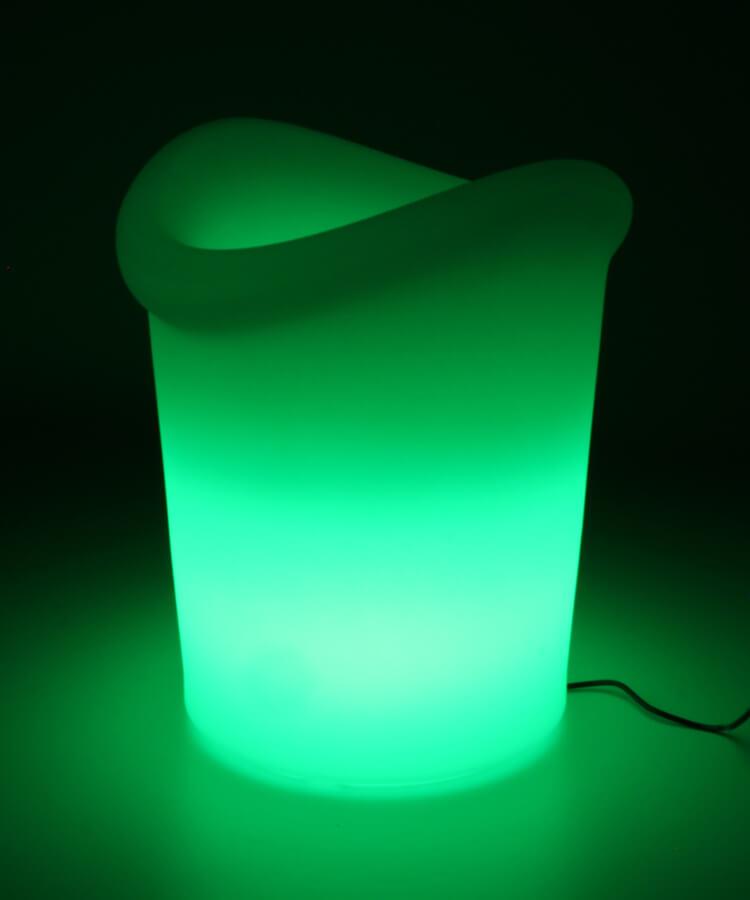 Yuppy lampa ogrodowa LED wiaderko do napojów lampa przenośna z pilotem   Lumisky
