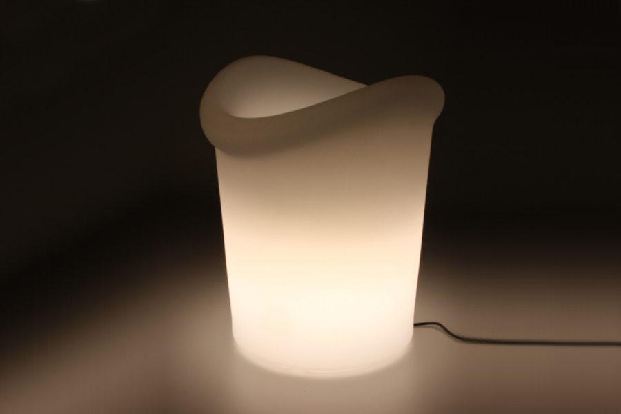 Yuppy lampa ogrodowa LED wiaderko do napojów lampa przenośna z pilotem | Lumisky