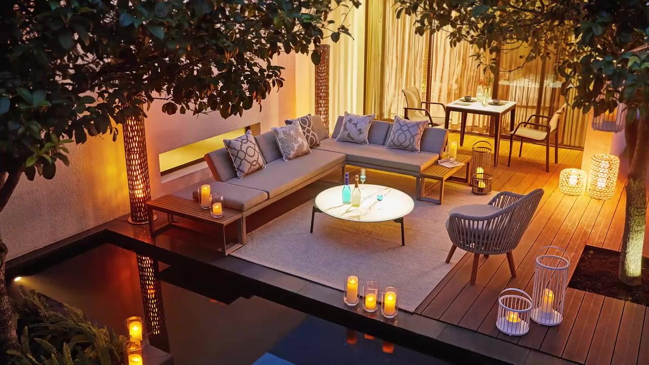 Ekskluzywne meble ogrodowe aluminiowe Oslo nowoczesna sofa ogrodowa leżanka Twoja Siesta