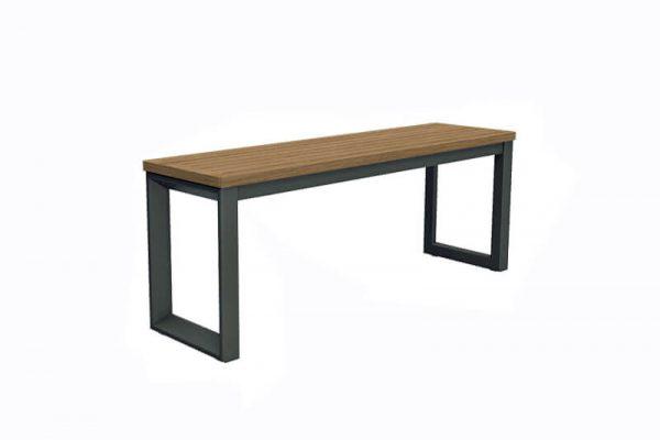 Bodo stolik boczny z aluminium do ogrodu niski stolik kawowy antracytowy Twoja Siesta