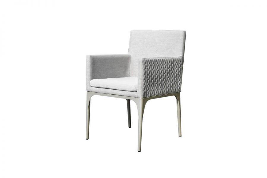 Bonn ogrodowy zestaw obiadowy dla 6 osób krzesło ogrodowe aluminium Twoja Siesta