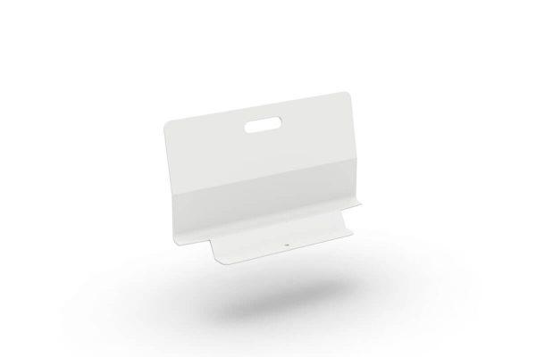 Bari oparcie z aluminium do modułu sofy ogrodowej kolor biały Jati & Kebon