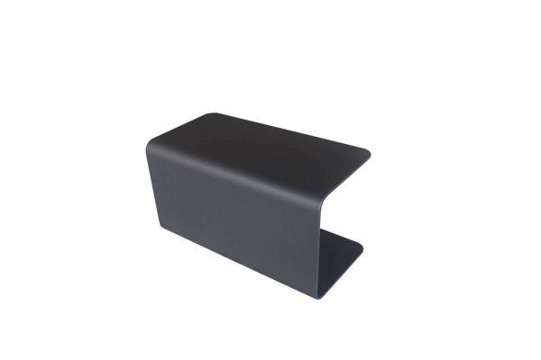 Bari podłokietnik z aluminium do modułu sofu ogrodowej kolor antracytowy Jati & Kebon