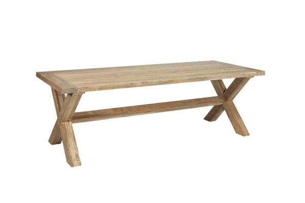 Lyon prostokątny stół ogrodowy 240 cm stół teakowy Vimine