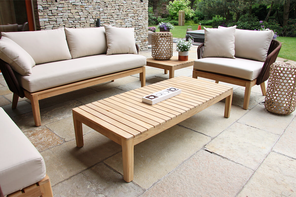 Manacor meble ogrodowe komplet wypoczynkowy zestaw ogrodowy lampy ogrodowe Spelt Twojasiesta luksusowe meble ogrodowe
