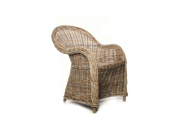 Versailles fotel rattanowy do ogrodu naturalny rattan krzesło rattanowe Vimine