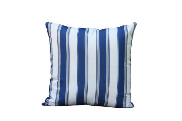 Passo błękit paryski poduszka ogrodowa wzór linie Twoja Sieta luksusowe meble ogrodowe