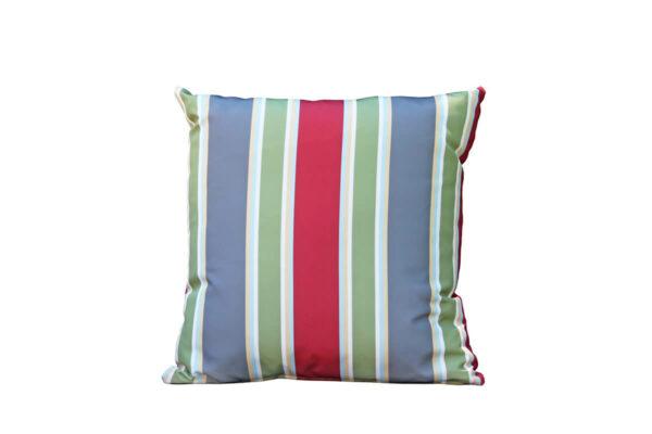 Passo makowa poduszka ogrodowa ozdobna wzór szerokie pasy Twoja Siesta luksusowe meble ogrodowe