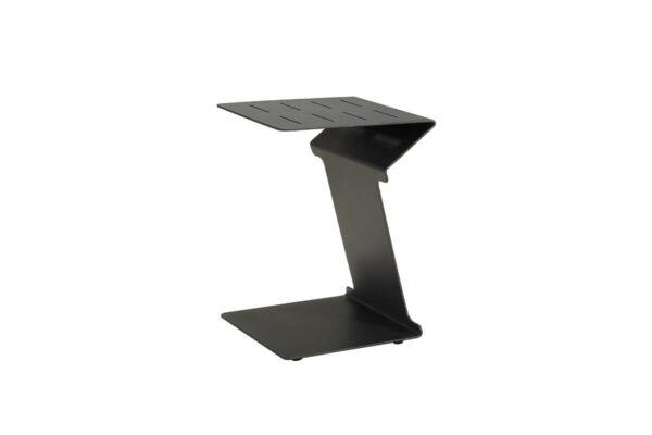 Emoti boczny stolik ogrodowy aluminium antracytowy Higold luksusowe meble ogrodowe