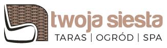 logo twojasiesta taras ogród spa luksusowe meble ogrodowe